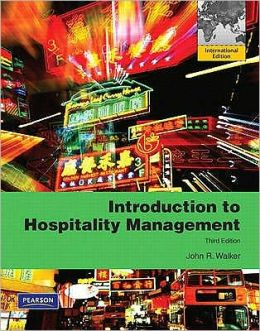 Introduction to Hospitality Management /Walker, John R. - 2010