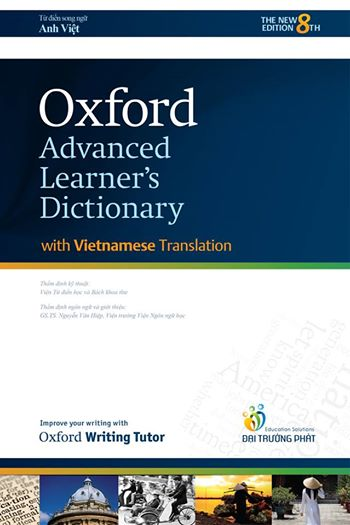Oxford advanced learner's dictionary with Vietnamese Translation - 2015